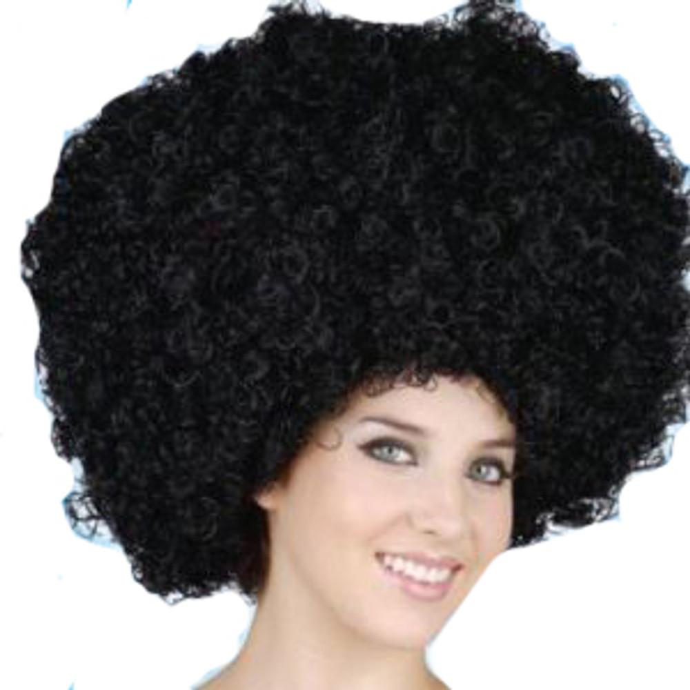 Afro Oversized Wig - Black