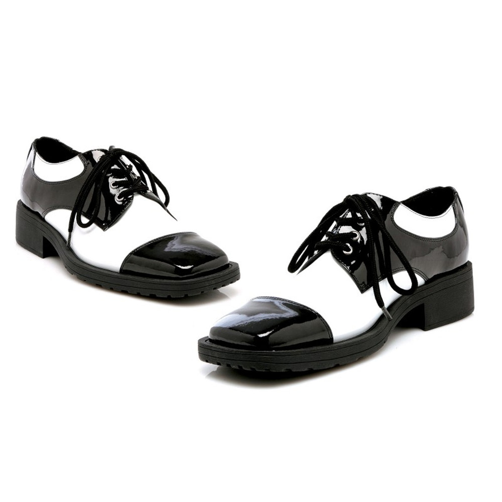 Black & White 20s Gangster Shoes