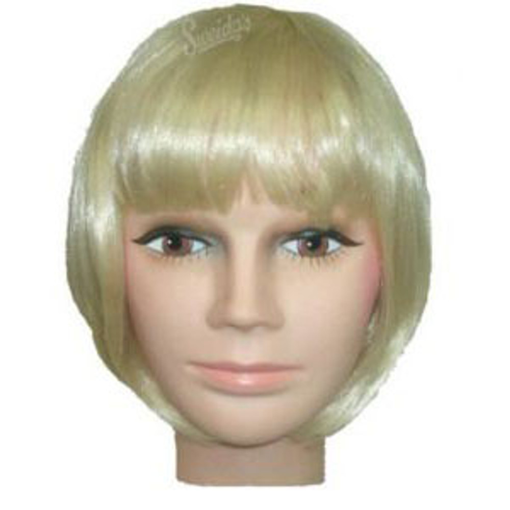 Bob wig 1920s Short Flapper Blonde Womens Wig