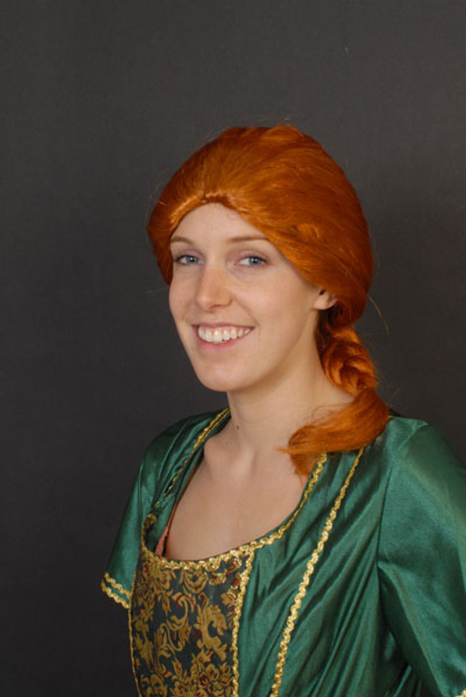 Plait Shrek Princess Fiona Wig