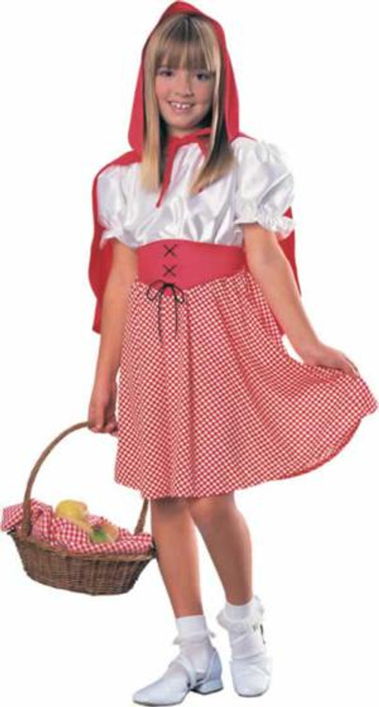 Riding Hood DLX Girls Costume