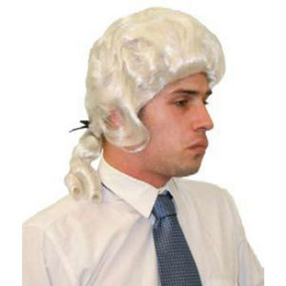 Colonial Mens Court Captain Cook Wig