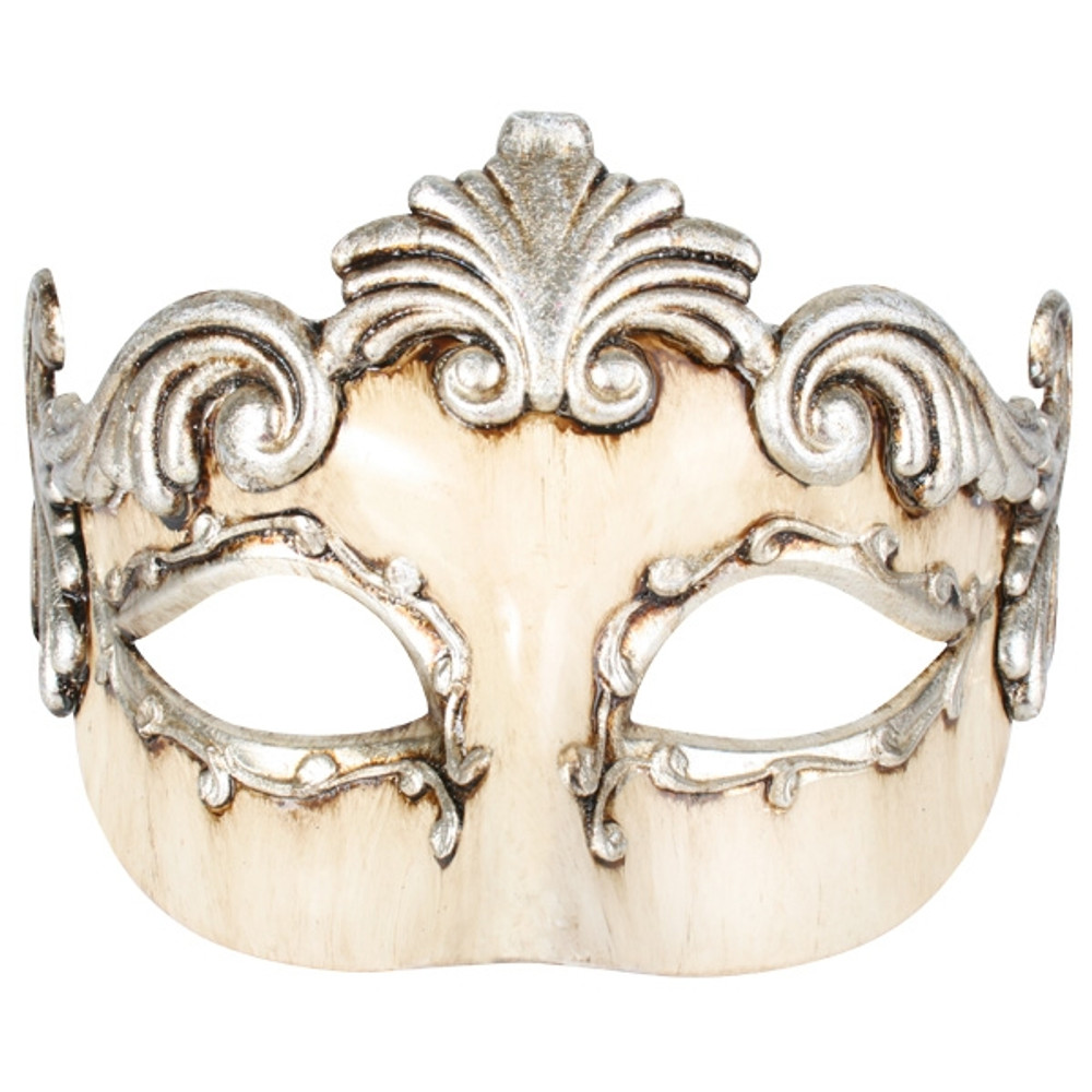 MEDICI Florentine Platinum & Ivory Eye Mask