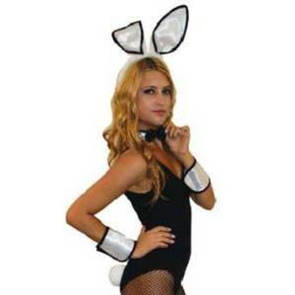 Bunny Rabbit Animal Kit - Black and White