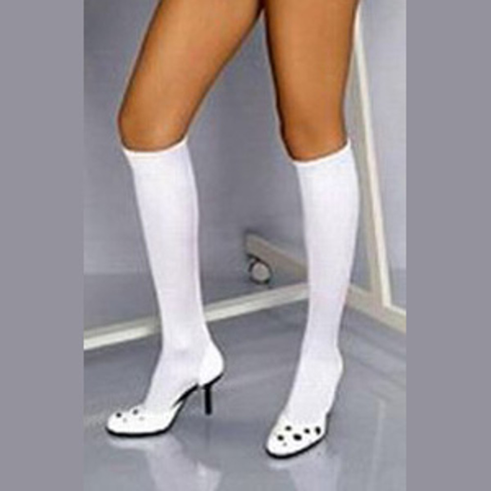 Under Knee Stocking - White