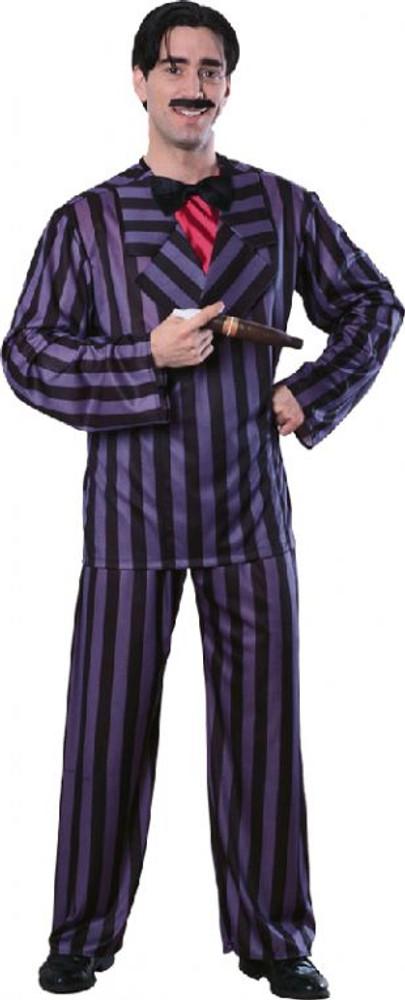 Gomez Addams Mens Costumes