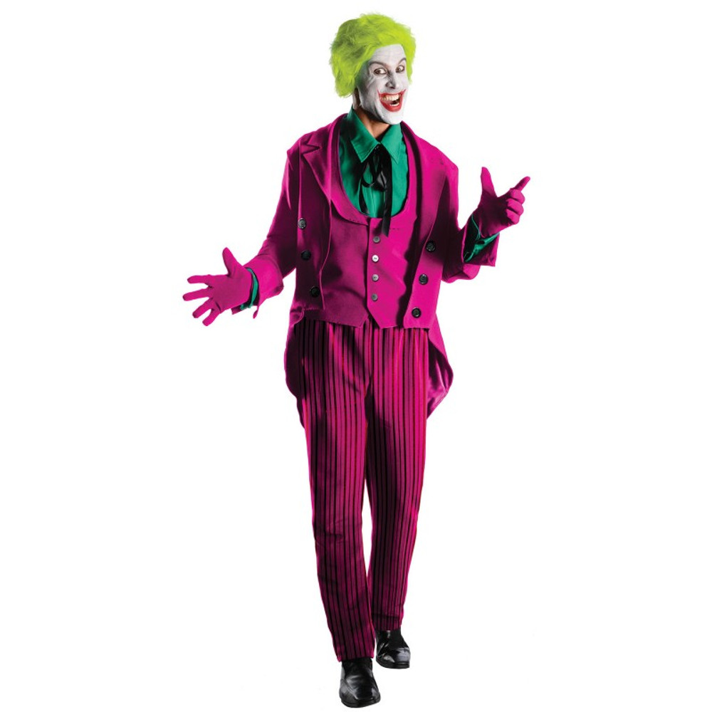 Batman Classic 1966 Series Grand Heritage The Joker Adult Costume