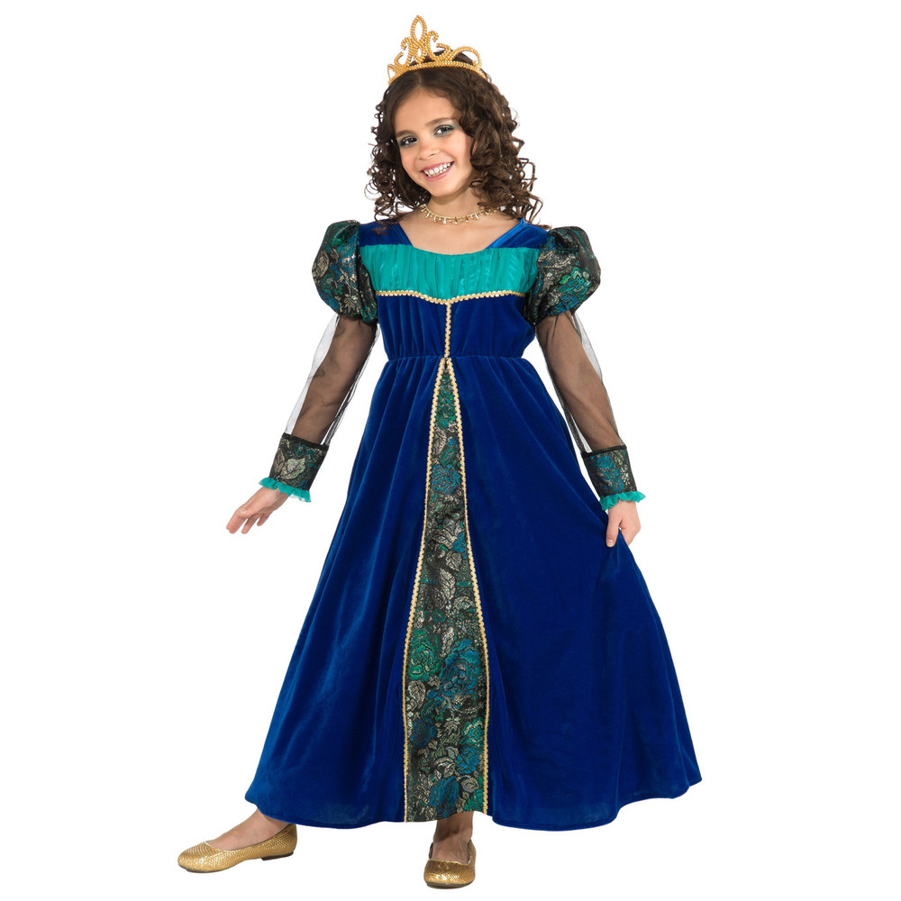 Princess Camelot Blue Girls Costume