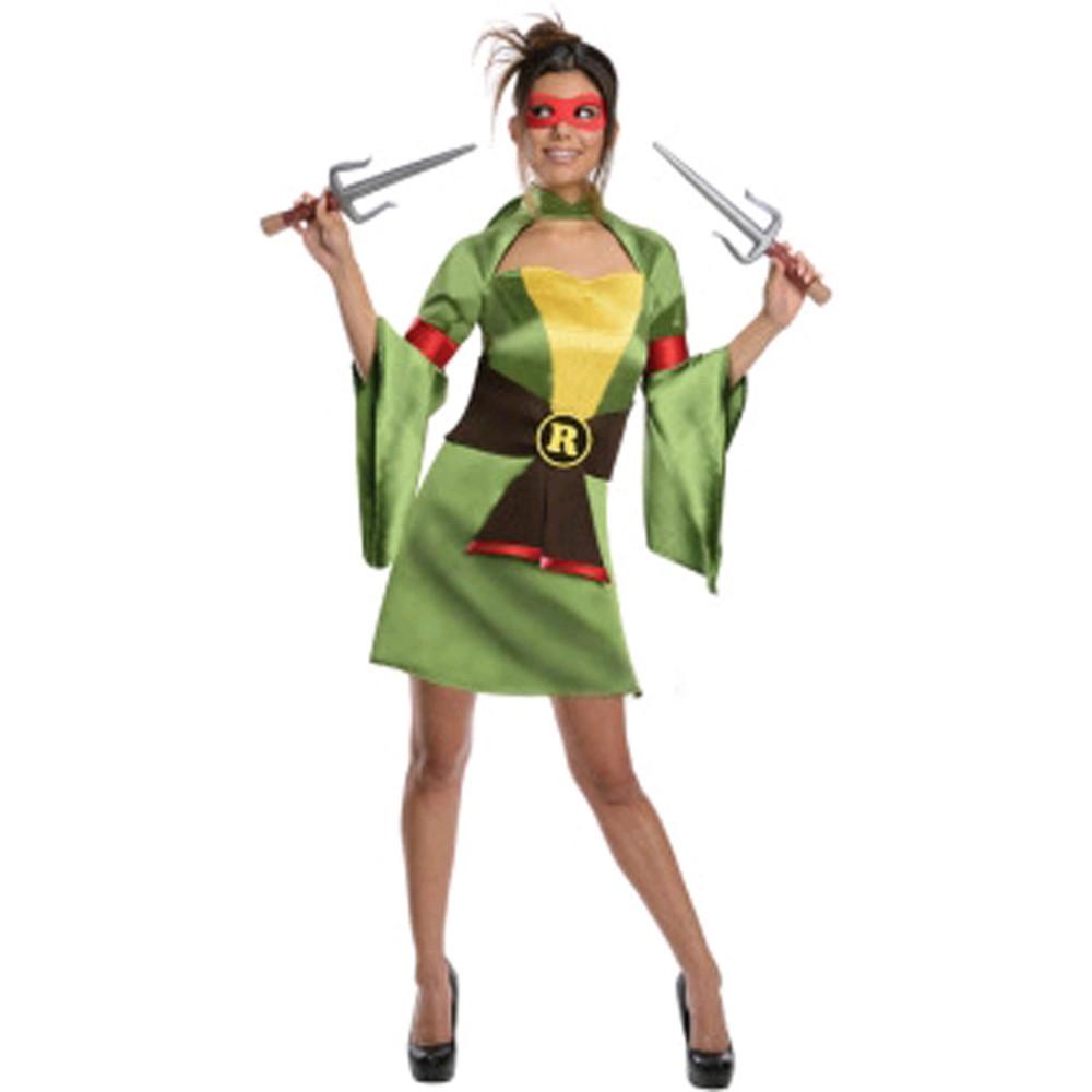 Teenage Mutant Ninja Turtles - Raphael Kimono Womens Costume