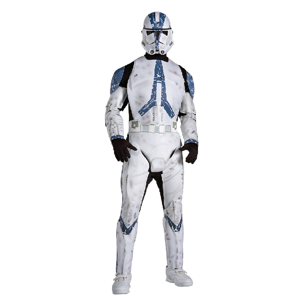 Star Wars - Clonetrooper Deluxe Mens Costume