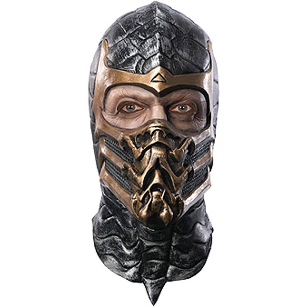 Mortal Kombat - Scorpion Latex Mask