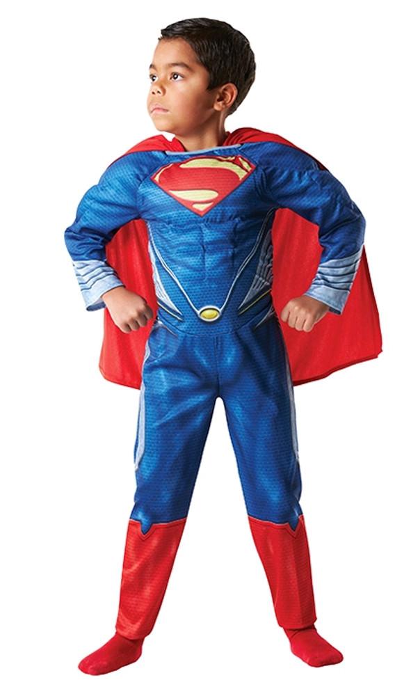 Superman Man of Steel Padded Chest Boys Costume