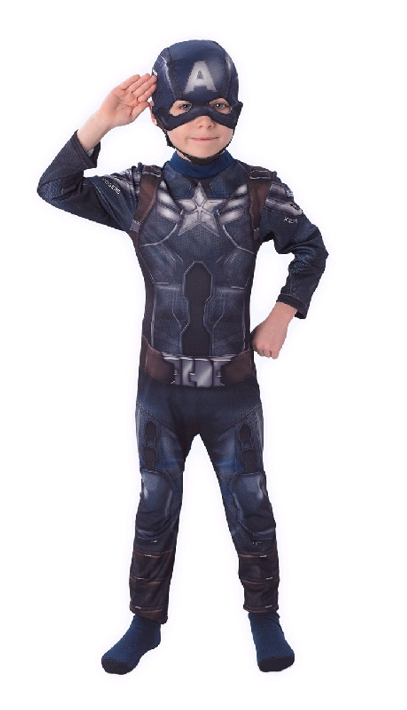 Captain America Winter Soldier Boys Costumes