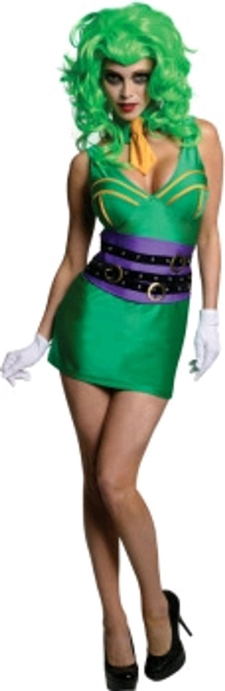 Joker Female Super Villain Costume