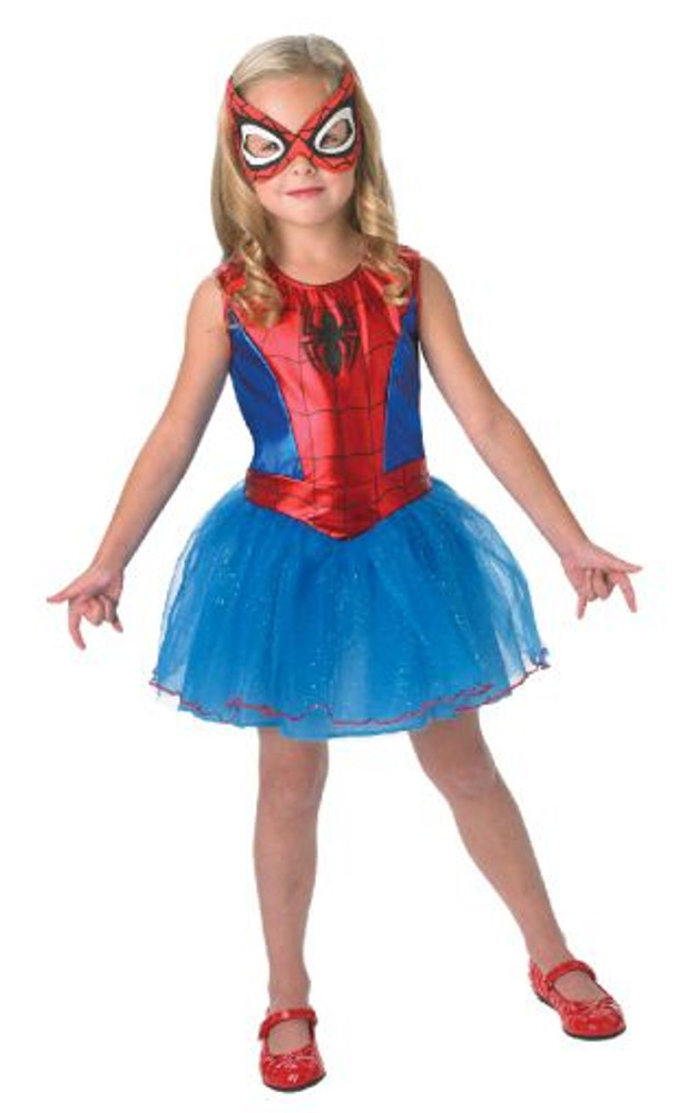 Spidergirl Tutu Girl's Costume