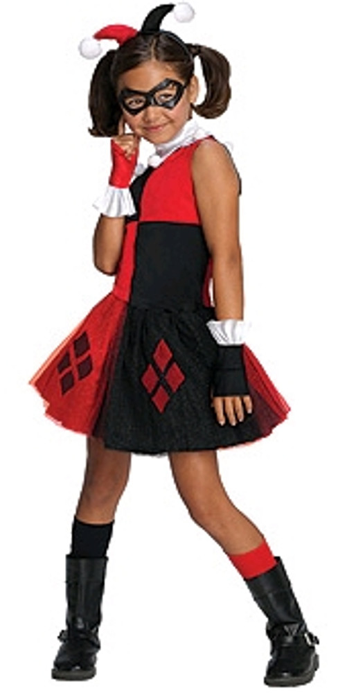Harley Quinn Tutu Girls Costume