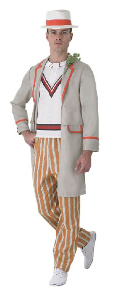 Dr Who 5th Dr Peter Davidson Mens Costume