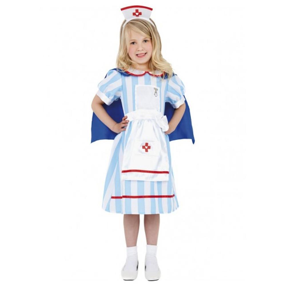 Nurse Vintage Girls Costume