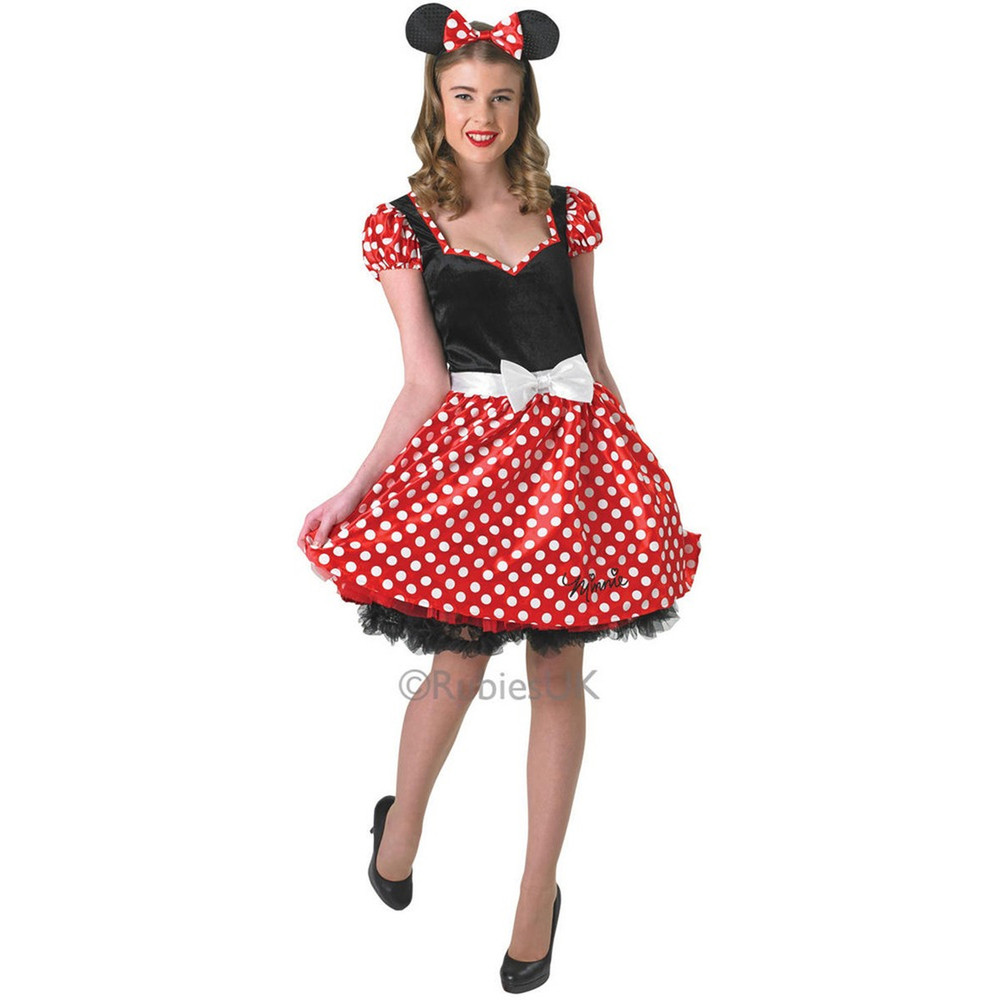 Minnie Mouse Sassy Womens Costume