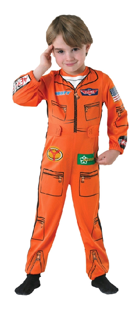 PLANES FLIGHT SUIT Boys Costume