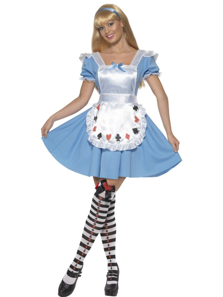 Alice in Wonderland Deck of Cards Women's Costume