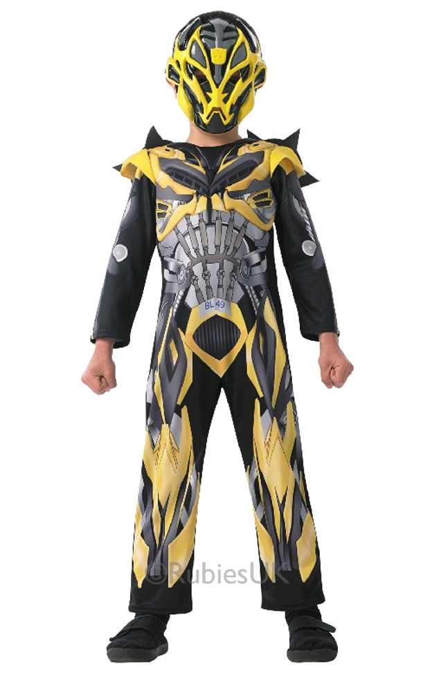 TRANSFORMERS 4 DLX BUMBLEBEE Kids Costume