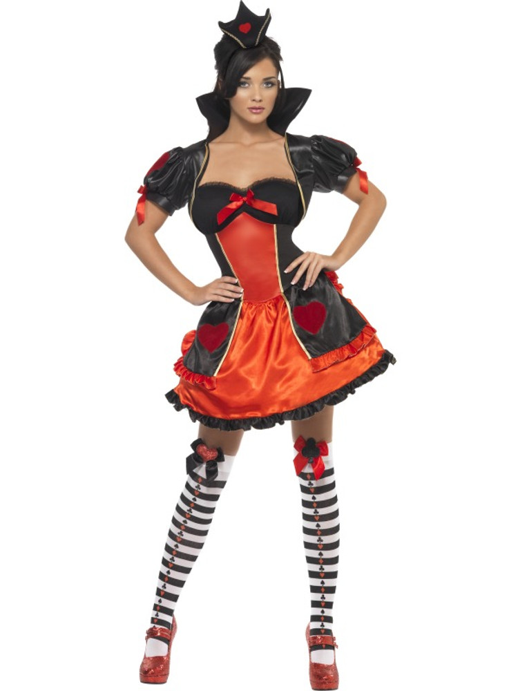 Alice in Wonderland - Queen of Hearts Womens Costume