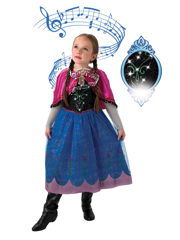Frozen Anna Musical Light Up Costume