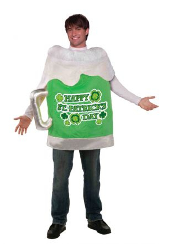 St Patricks Day Beer Mug Mens Costume