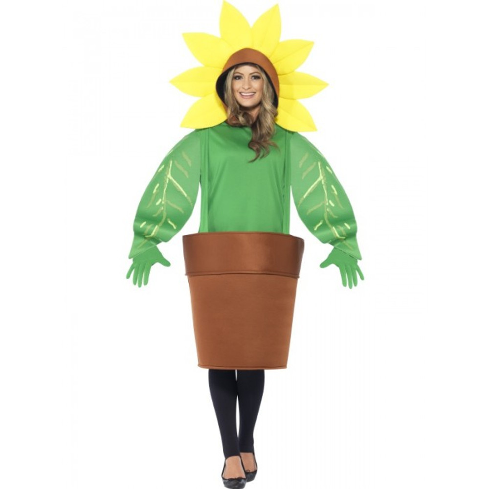 Sun Flower Adult Costume