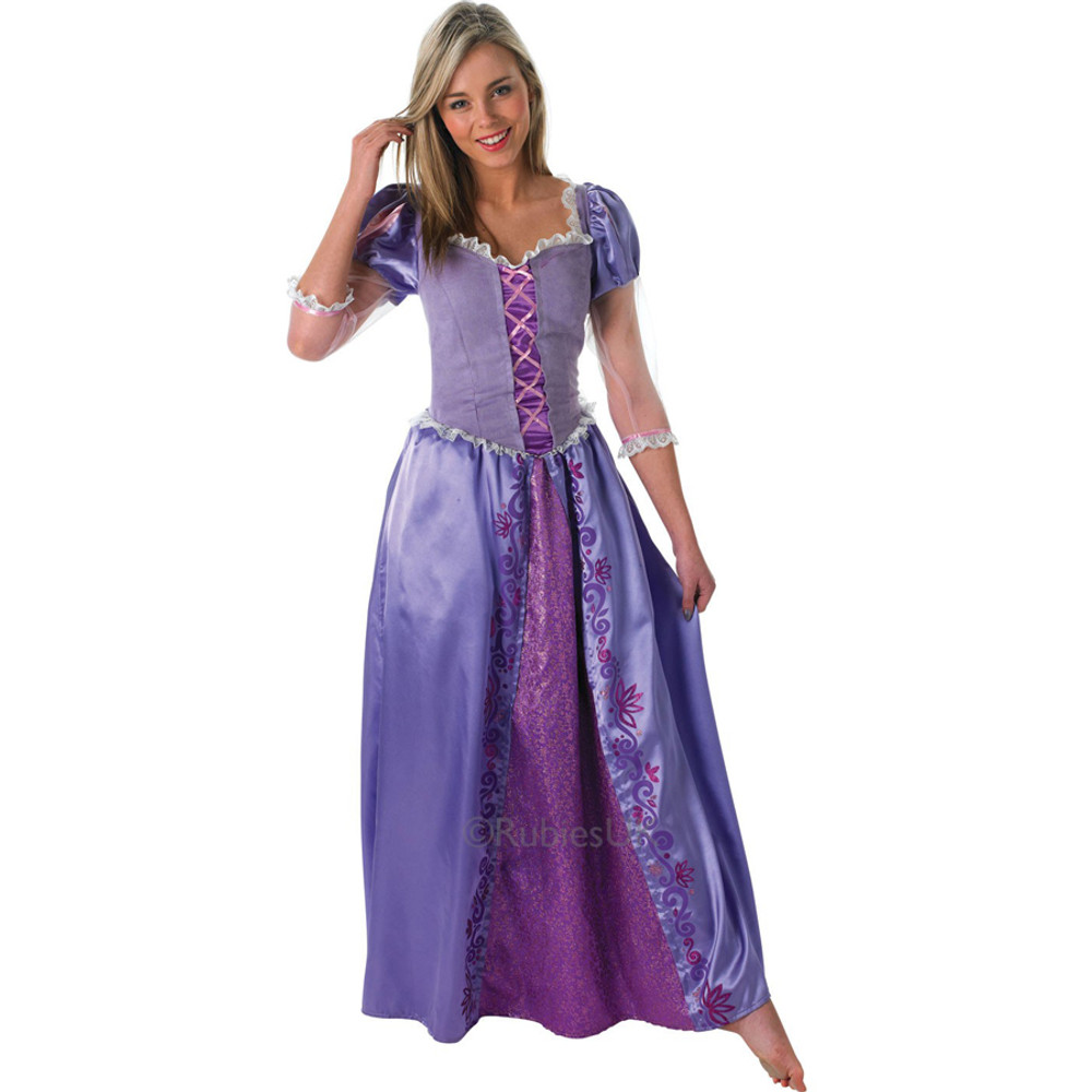 Rapunzel Tangled Womens Costume