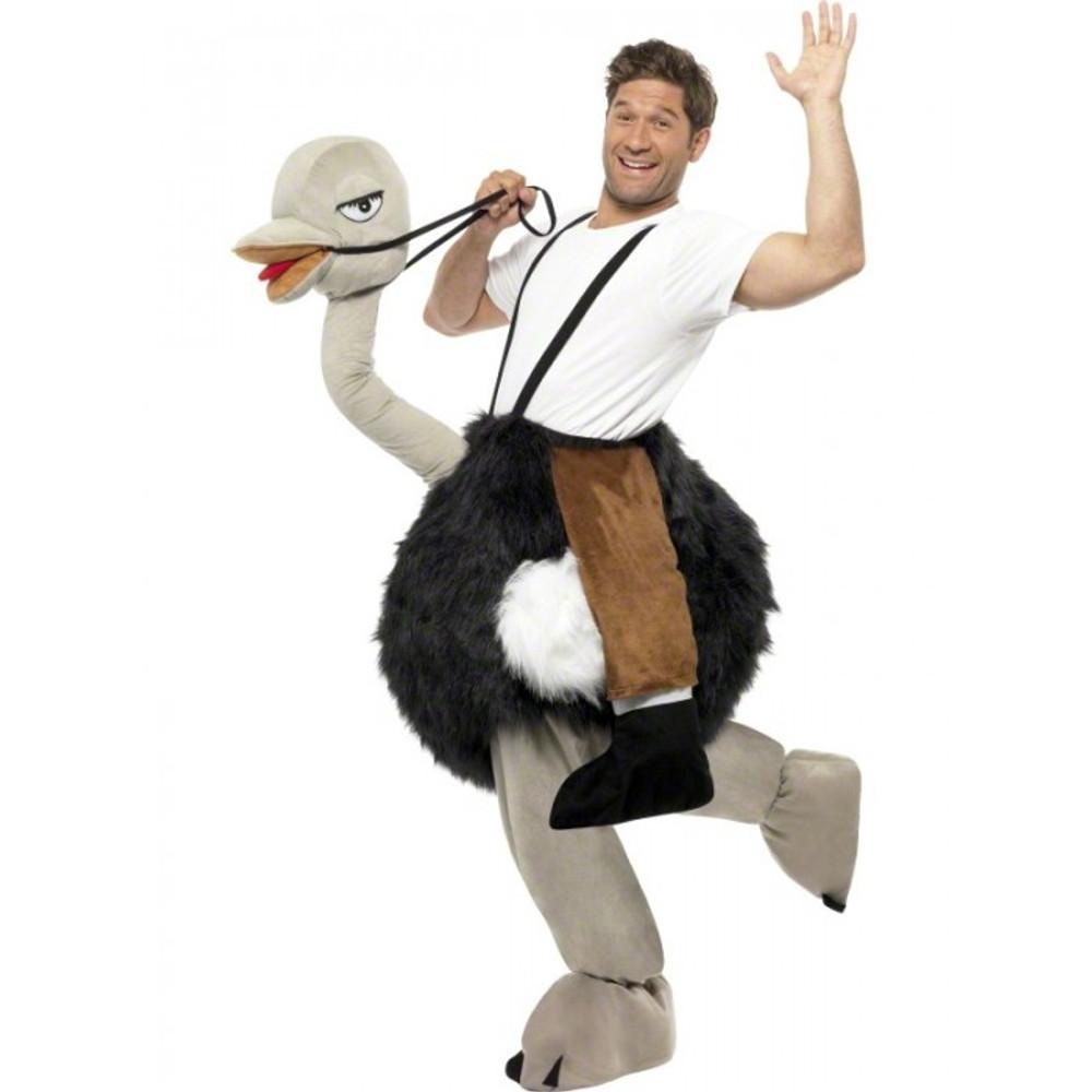 Ostrich Animal Adult Costume