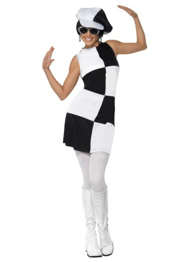 1960's Party Girl Womens Costume