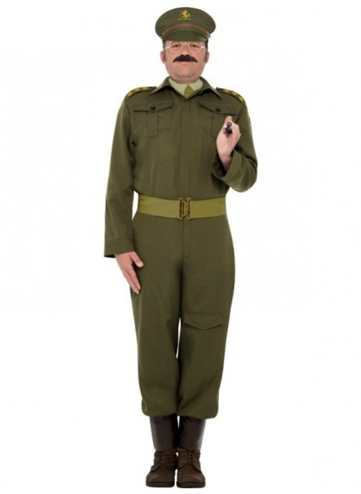 Army WW2 Home Guard Captain Costume