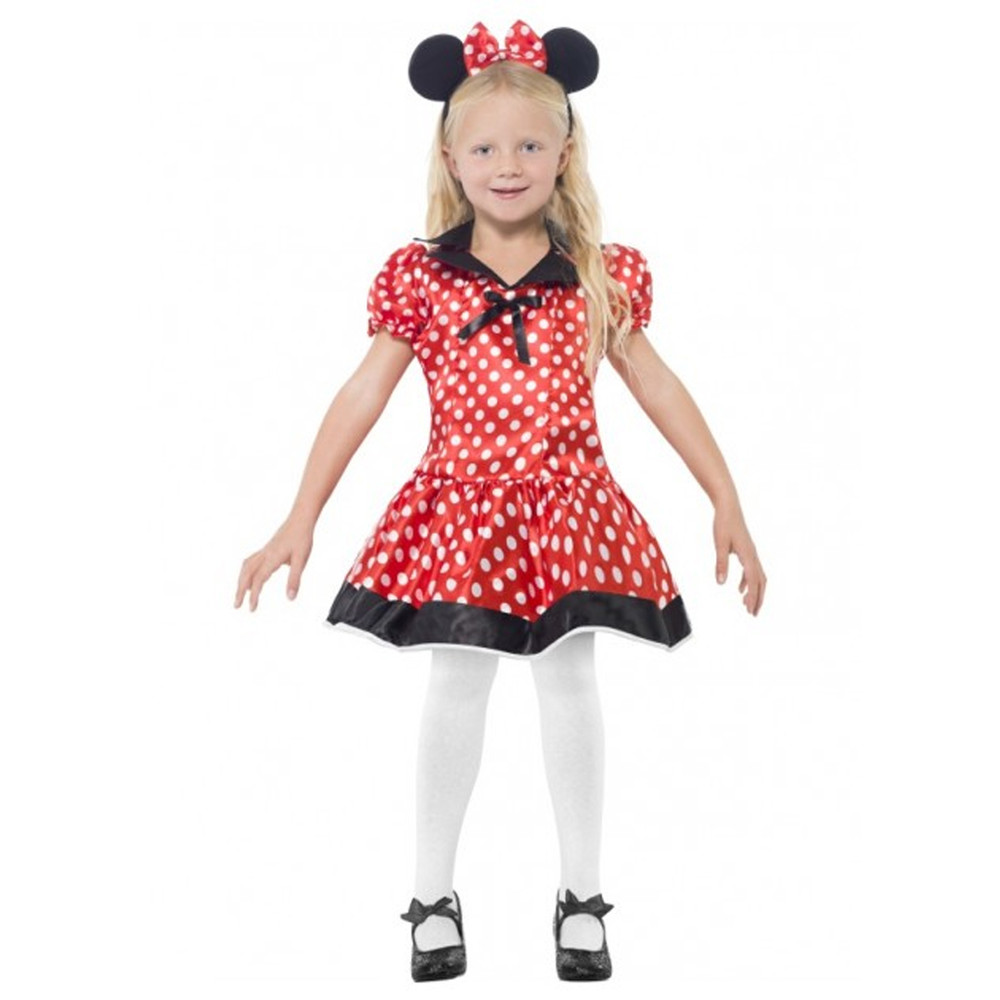 Minnie Mouse Cute Mouse Girl Costume