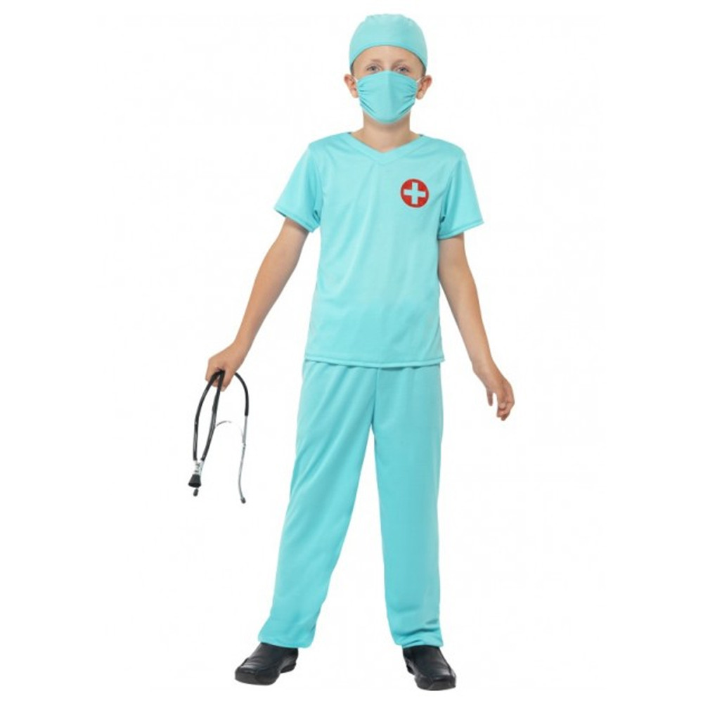 Surgeon Doctor Kids Costume