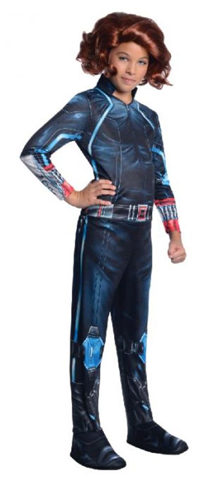 Black Widow Avengers Girls Costume