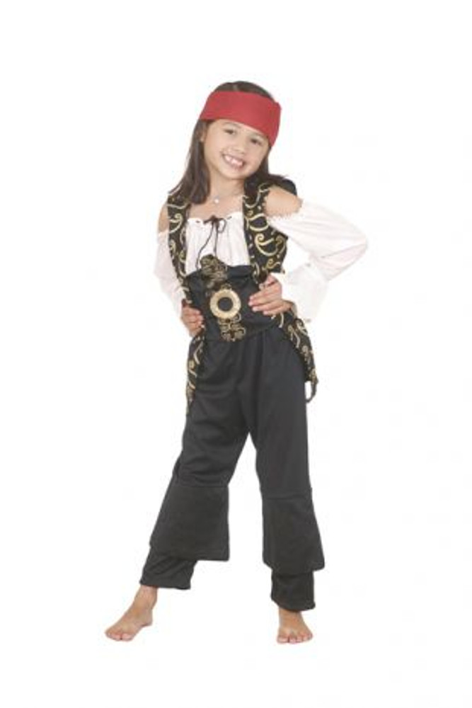 Pirates of the Carribean Angelica Costume