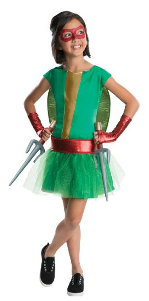 Teenage Ninja Turtle - Raphael Tutu Girls Costume