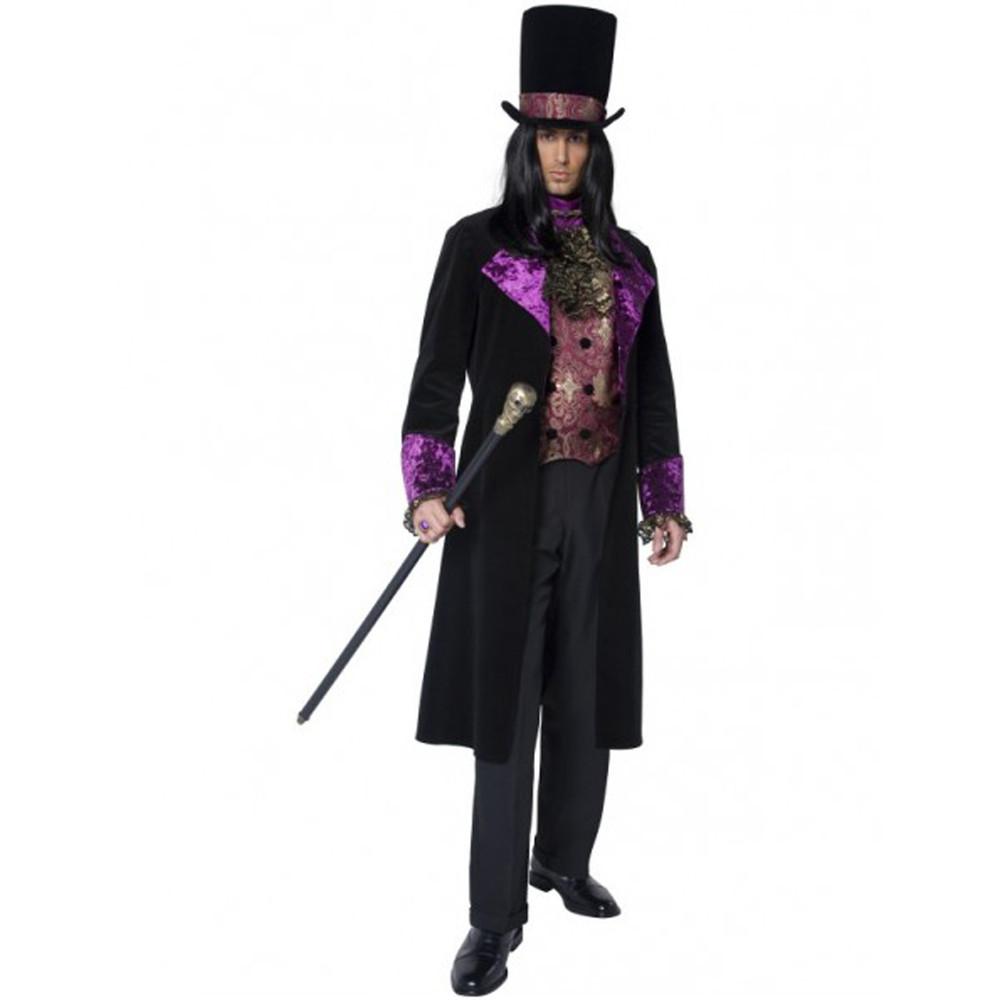 Vampire Gothic Count Mens Costume