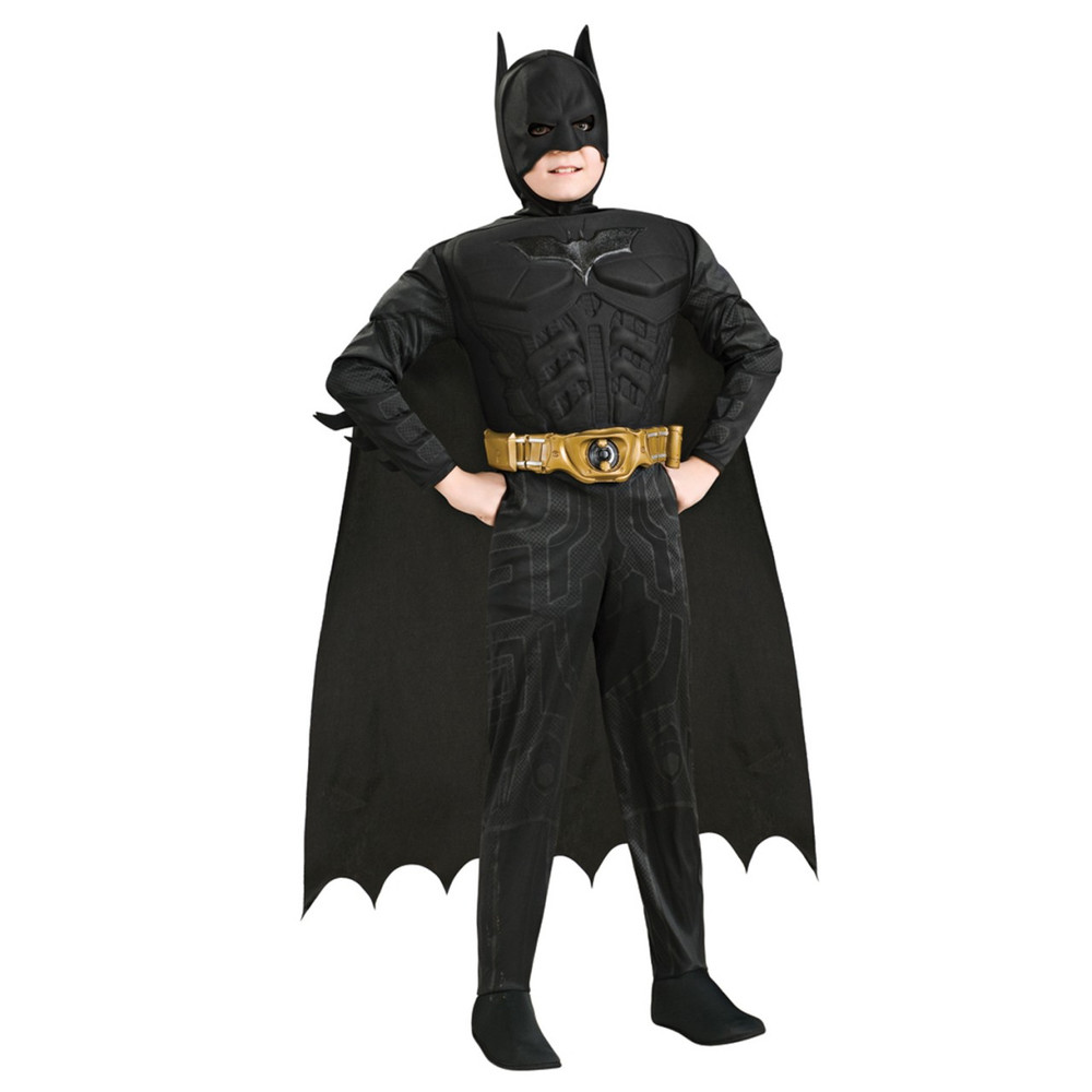 Batman The Dark Knight Rises Deluxe Muscle Chest Child Costume