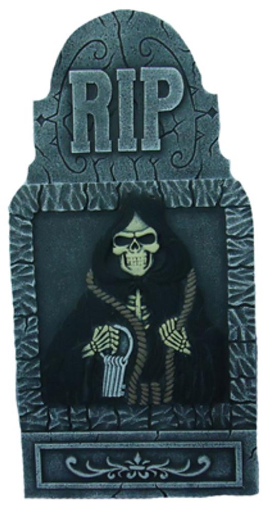Halloween Jumbo Death Reaper Tombstone