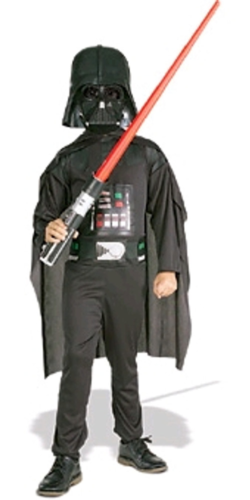 Star Wars Darth Vader boxed Kids costume