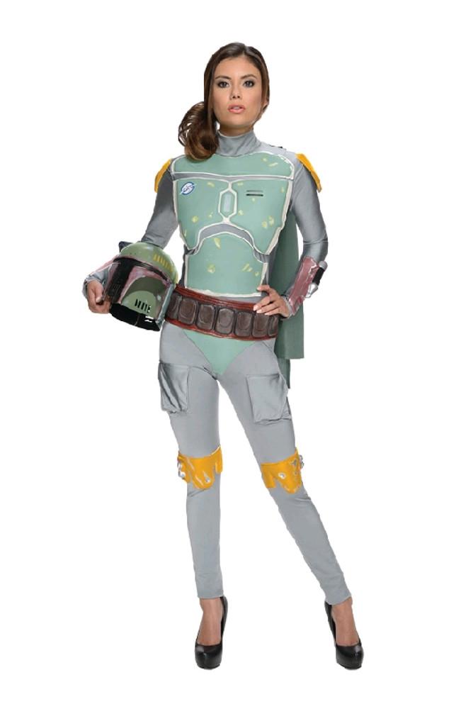 Star Wars Boba Fett women Costume