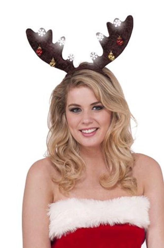 Christmas Reindeer Lightup Antlers
