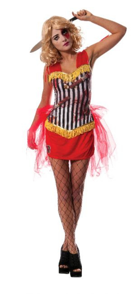 Knife Throwers Assistant Womens Costume