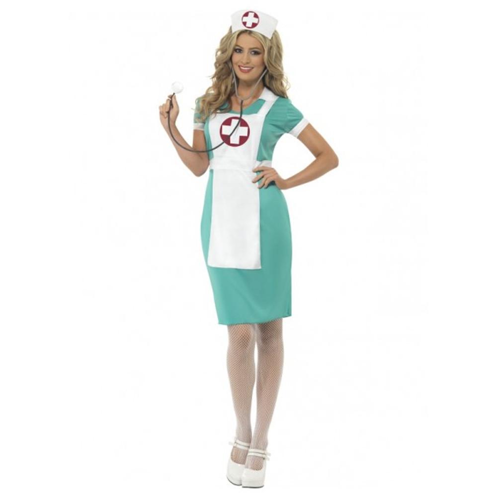 Nurse Scrubs Womens Costume