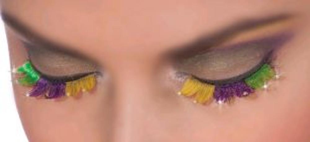 Jester Mardi Gras Eyelashes