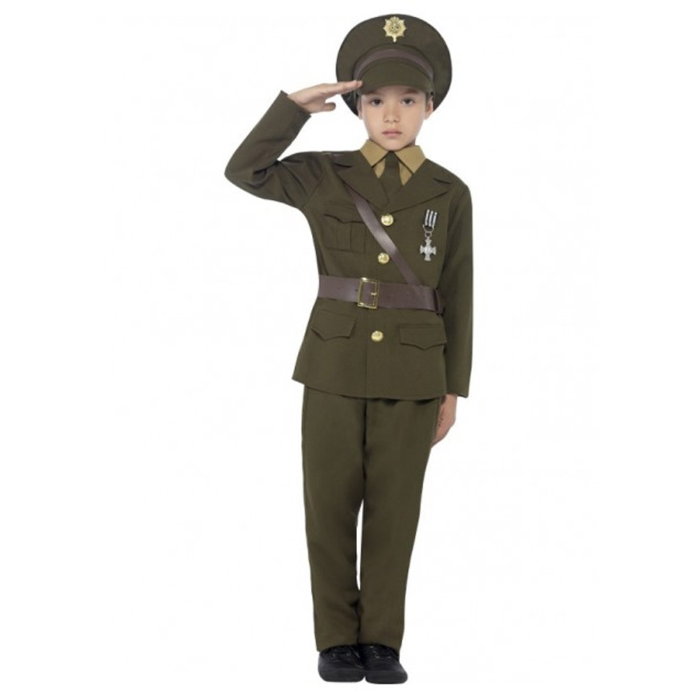 Army Officer Boys Costume
