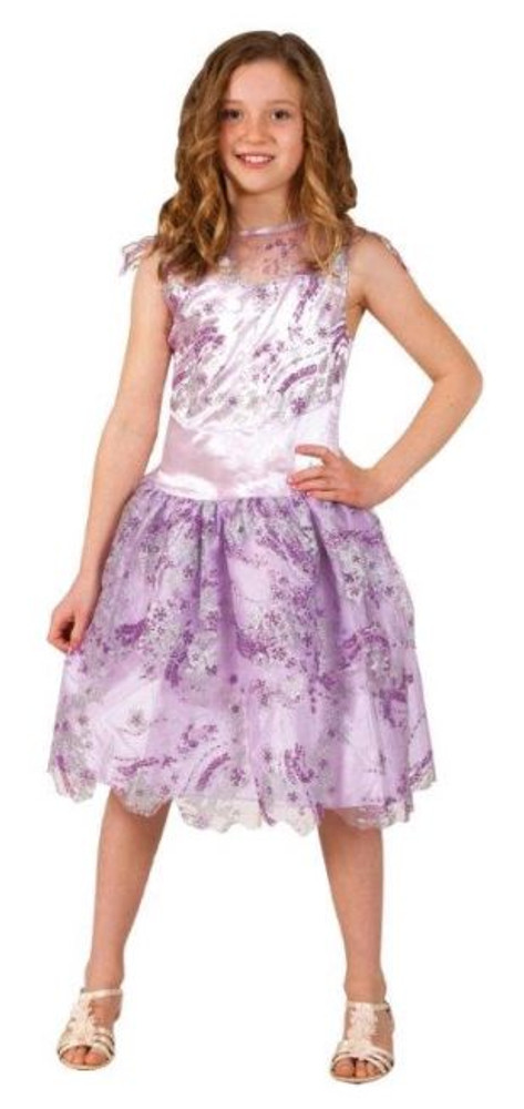Descendants Mal Short Coronation Girls Costume 9-12yrs